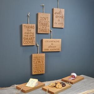 Create Yourself Kit ™ Plaque Chopping Board - decoration making kits