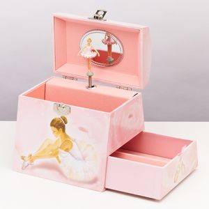 Musical Keepsake And Jewelry Box