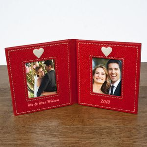 Ruby Wedding Anniversary Personalised Picture Frame