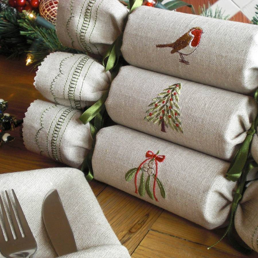 woodland reusable christmas crackers - British Christmas Crackers