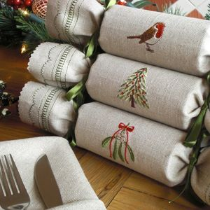 Woodland Reusable Christmas Crackers - christmas parties & entertaining