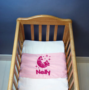 Personalised Baby Bed Sheet