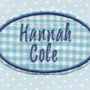 Custom Personalised Embroidered Name Patches