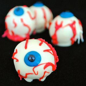 Cake Eye Balls - halloween
