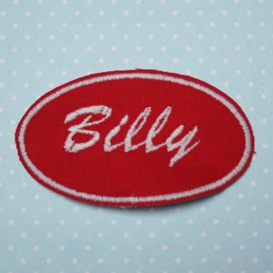 Custom Personalised Embroidered Name Patches - sewing kits
