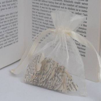 Vintage Paper Confetti - Gift Bag