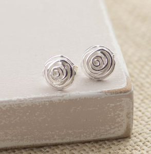 Rosebud Studs - jewellery for women