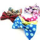 Slide On Dog Collar Bow Tie