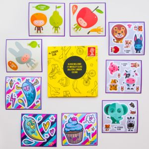 Three Month Sticker Subscription - subscriptions