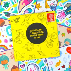 Six Month Sticker Subscription - subscriptions