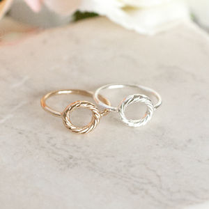 Circle Karma Ring - rings