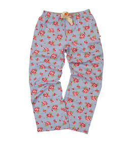 Girls Floral Brushed Woven Lounge Pant
