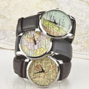 Personalised Map Location Watch Men