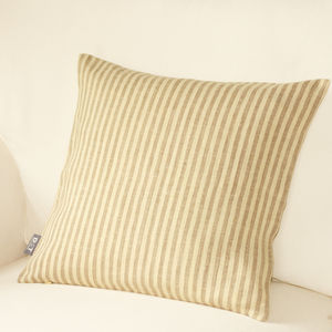 Striped Cushion Cover - bedroom