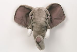 Decorative Animal Head Elephant - baby's room