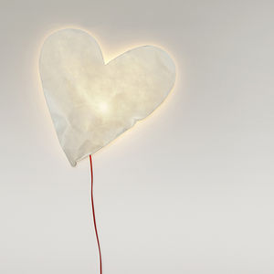 Heart Lamp - baby's room