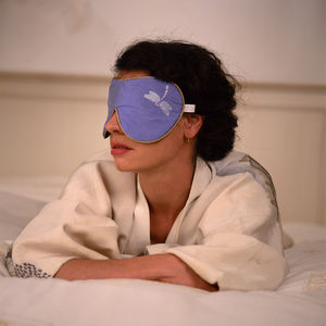 Holistic Silk Lavender Eye Mask - bedding & accessories