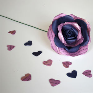 Enduring Love Storyteller Paper Rose - room decorations