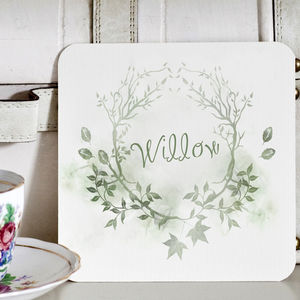 Woodland Wedding Table Names - rustic wedding