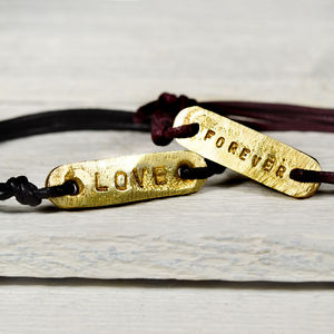 Personlised Identity Bracelet - men's jewellery