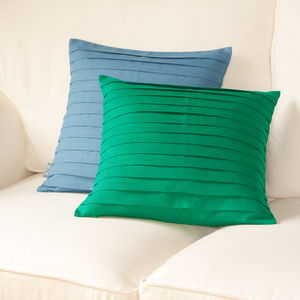 Pleated Cushion Cover - living room