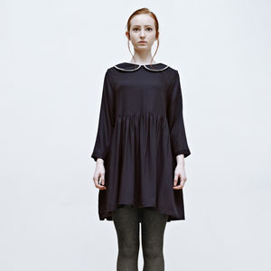 Jenny Sailor Loose Smock Dress - dresses