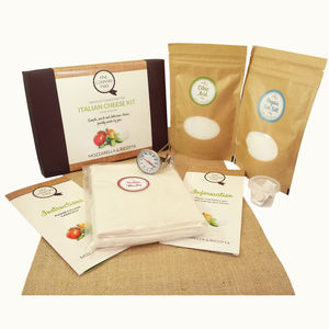 Make Your Own Italian Cheese Kit - creative kits & experiences