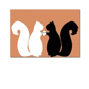 Two Squirrels Fine Art Print