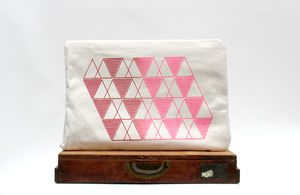 Geometric Laptop Case
