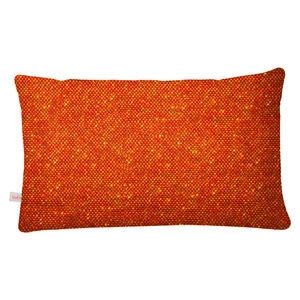 Orange Bute Tweed Cushion - cushions