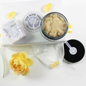 Organic Honey And Rose Scrub - gifts for her