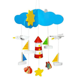 Choose From Seven Fun Wooden Mobiles For Children - mobiles