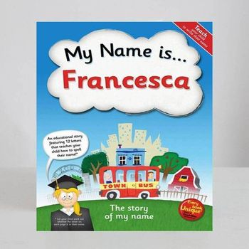 The Story Of My Name Educational Book