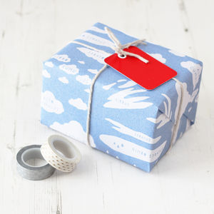 Cloud Types Educational Gift Wrap Set - wrapping paper