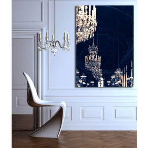 Chandelier Print Canvas Wall Art - canvas prints & art