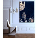 Chandelier Print Canvas Wall Art