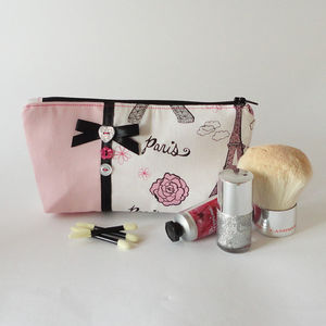 Eiffel Tower Makeup Bag