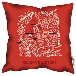 Roads To Victory Arsenal Cushion