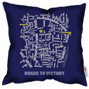Roads To Victory Spurs Cushion - cushions