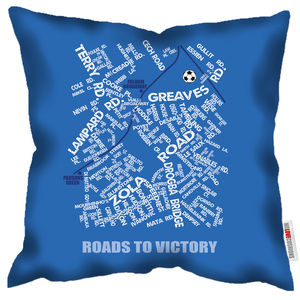 Roads To Victory Chelsea Cushion