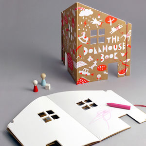 Dollhouse Colouring Book