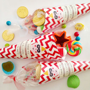 Pre Filled Thank You Party Cone - party bags and ideas