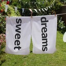 Personalised Pair Of Pillowcases