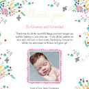 Personalised 'Beeautiful' Baby Thank You Print