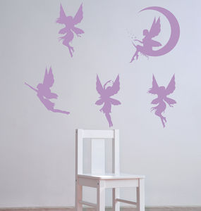 Fairy Wall Stickers - decorative accessories
