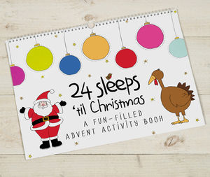 24 Sleeps Advent Book / Super Fast Delivery - books