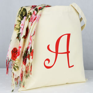 Personalised 'Alphabet' Shopping Bag