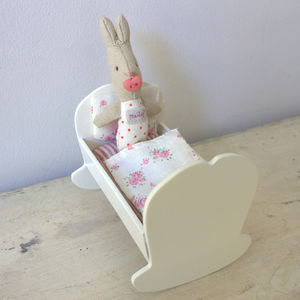 Mini Cradle And Baby