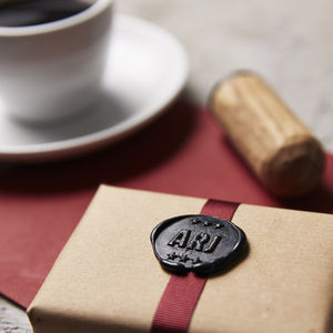 Personalised Star Monogram Wax Seal Stamp - wax seals