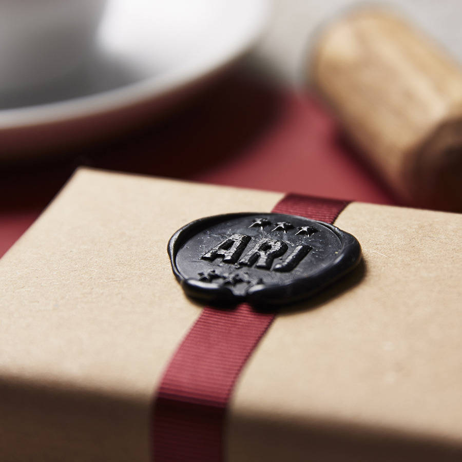 Personalised Star Monogram Wax Seal Stamp